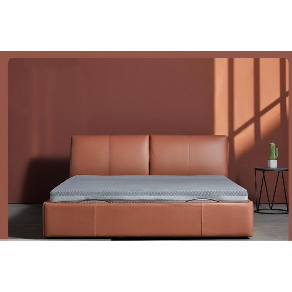 Двуспальная кровать Xiaomi 8h Milan Smart Electric Bed RM 1.5 m Fashion Orange (умное основание и латексный матрас Schcott)