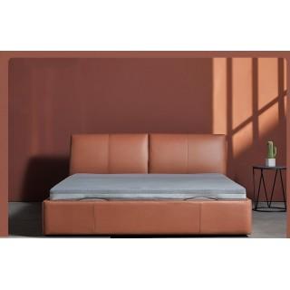 Двуспальная кровать Xiaomi 8h Milan Smart Electric Bed 1.8 m Fashion Orange (обычное основание)