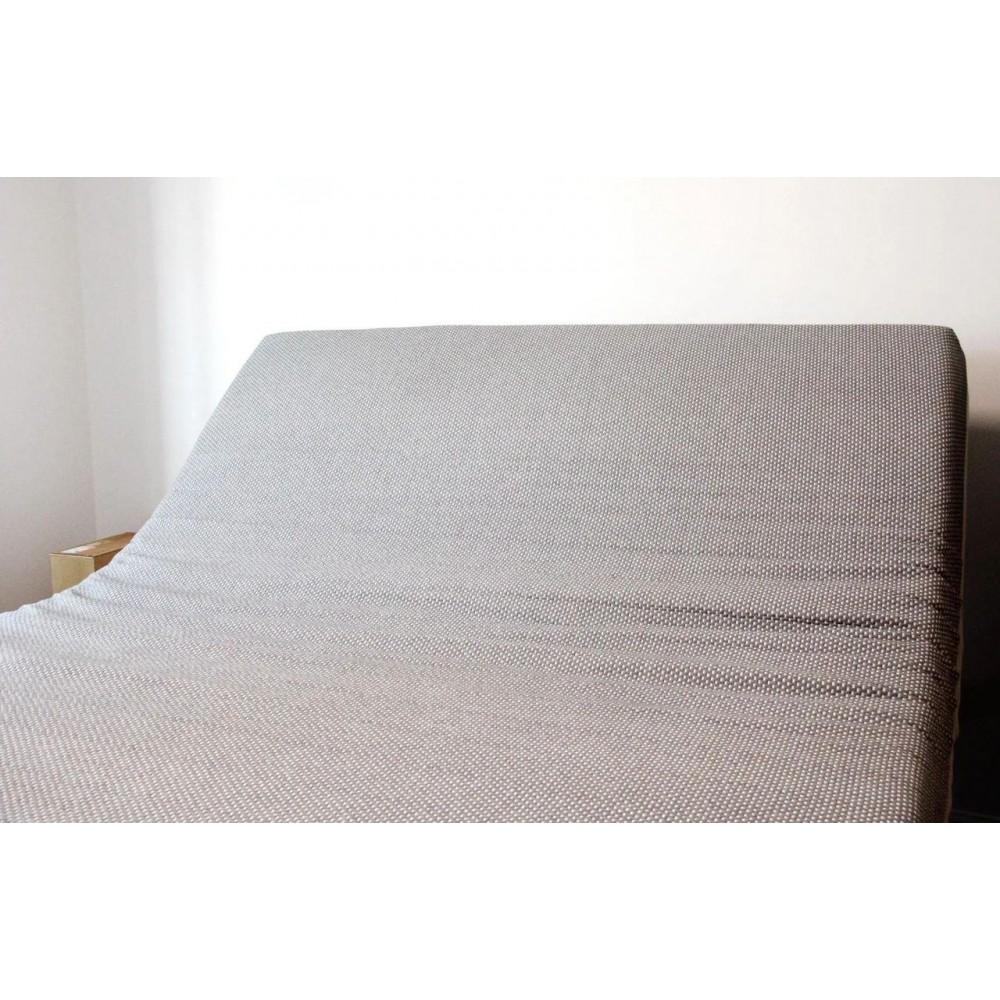Умная двуспальная кровать Xiaomi 8h Milan Smart Electric Bed DT1 1.8 m Grey Blue (умное основание и матрас с эффектом памяти)