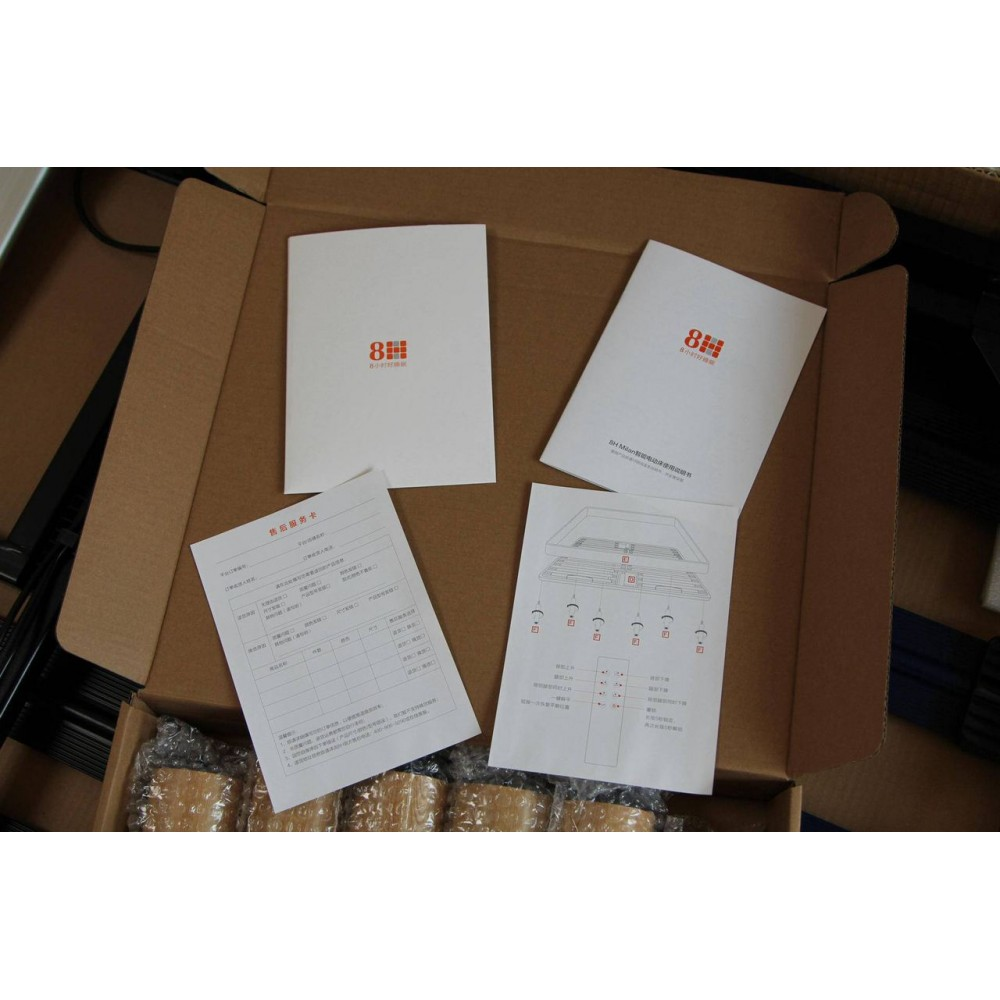 Двуспальная кровать Xiaomi 8H Milan Smart Electric Bed RM 1.8 m Ash (умное основание и латексный матрас Schcott)