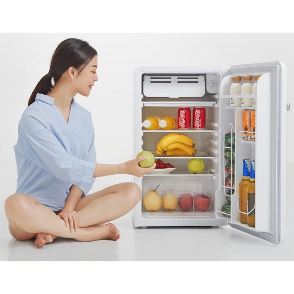 Компактный холодильник Xiaomi Viomi Vintage Smart Refrigerator 92L (BC-92MD)