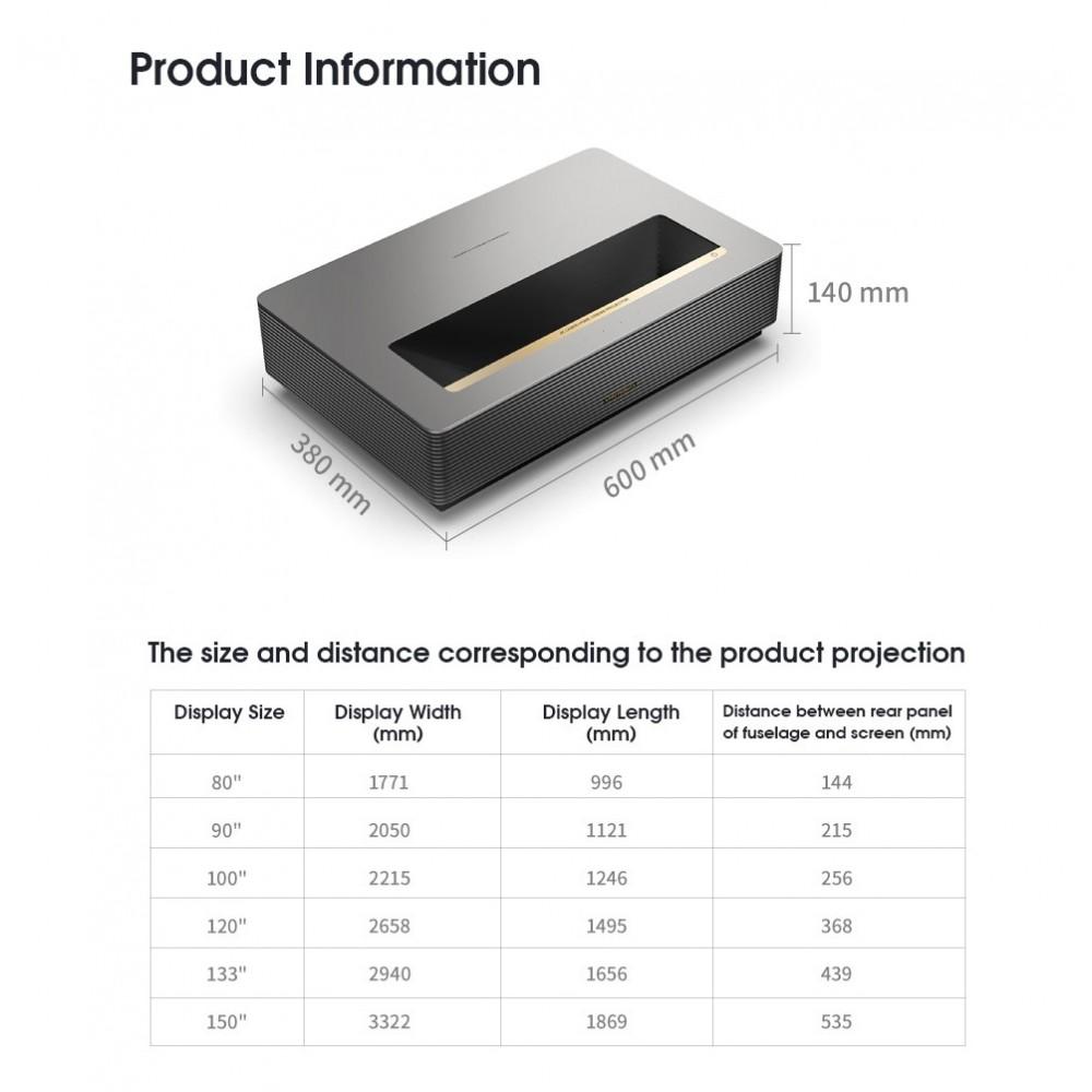 Лазерный проектор Wemax D30 4K