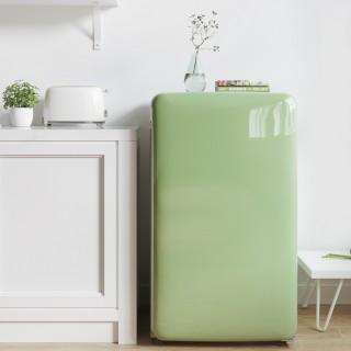 Мини-холодильник Xiaomi Xiaoji Mini Retro Refrigerator Light Series Green