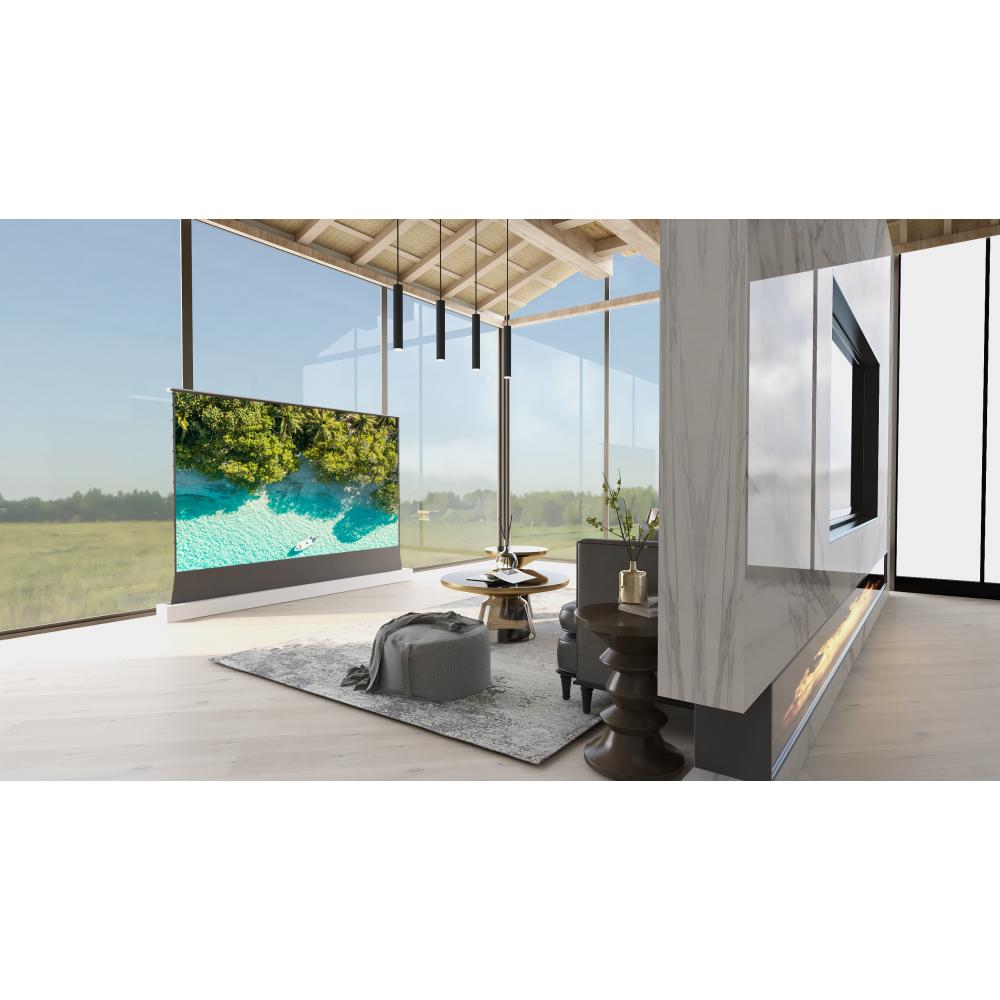 Напольный экран высокого качества для лазерного проектора VividStorm S PRO Electric Tension Floor Screen 120 дюймов