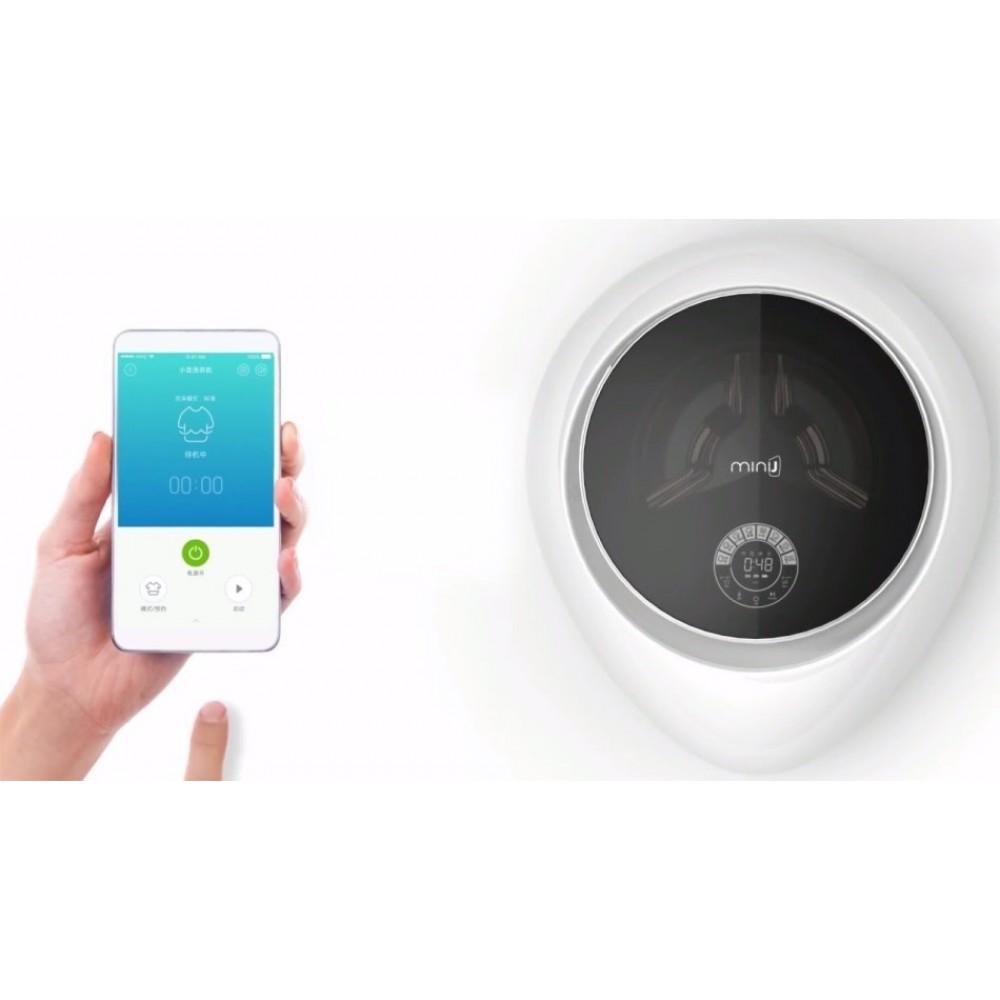 Настенная стиральная машина с сушкой Xiaomi MiniJ All-in-one Wall-Mounted 2.5 кг (V2-XBL)