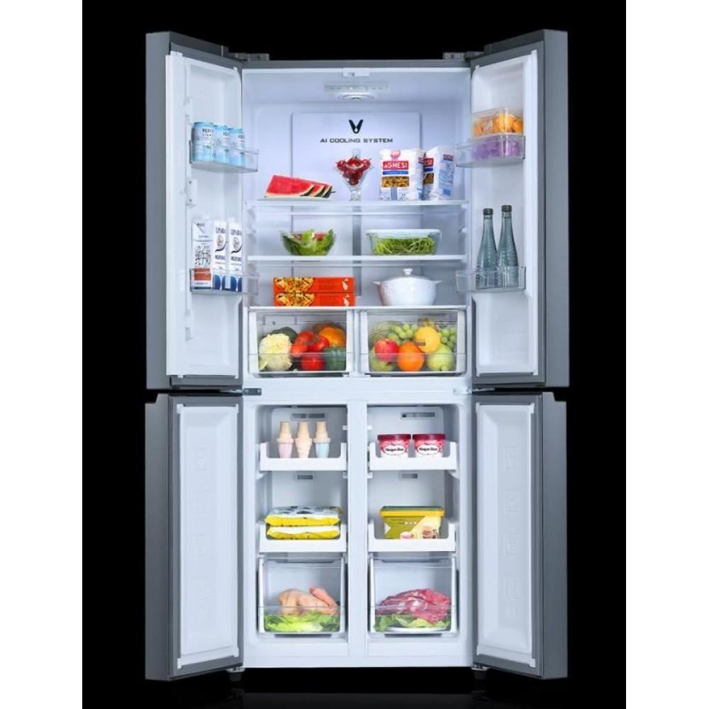 Умный холодильник Xiaomi Viomi Internet Smart Refrigerator Cross 4-Door 398L Grey (BCD-398WMSD)