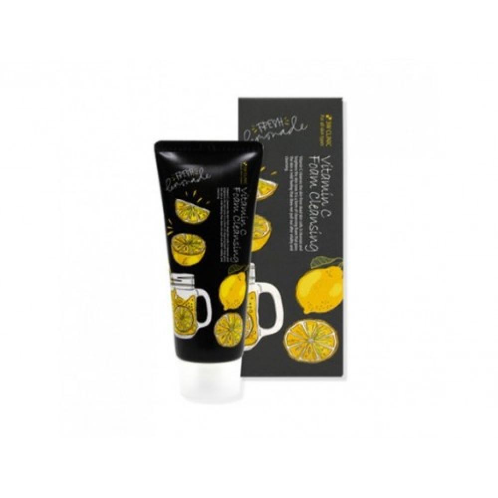 3W CLINIC Пенка для умывания натуральная ВИТАМИН С Foam Cleansing Vitamin C, 100 мл