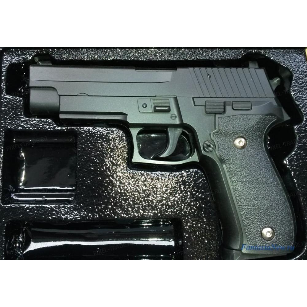 Детский игрушечный пистолет с пульками G26