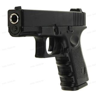 Пистолет железный игрушечный на пульках Глок ( Glock 17 ) G15