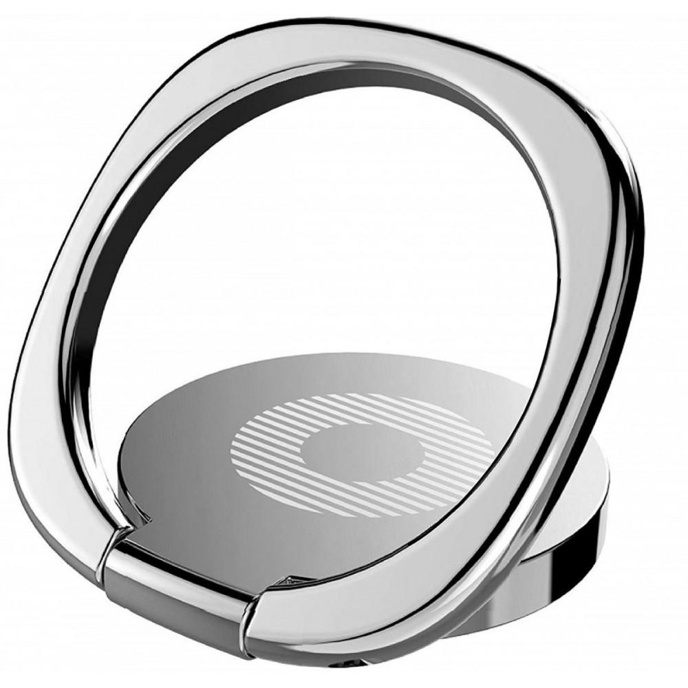 Кольцо-держатель для телефона Baseus SUMQ-0S, серебристый