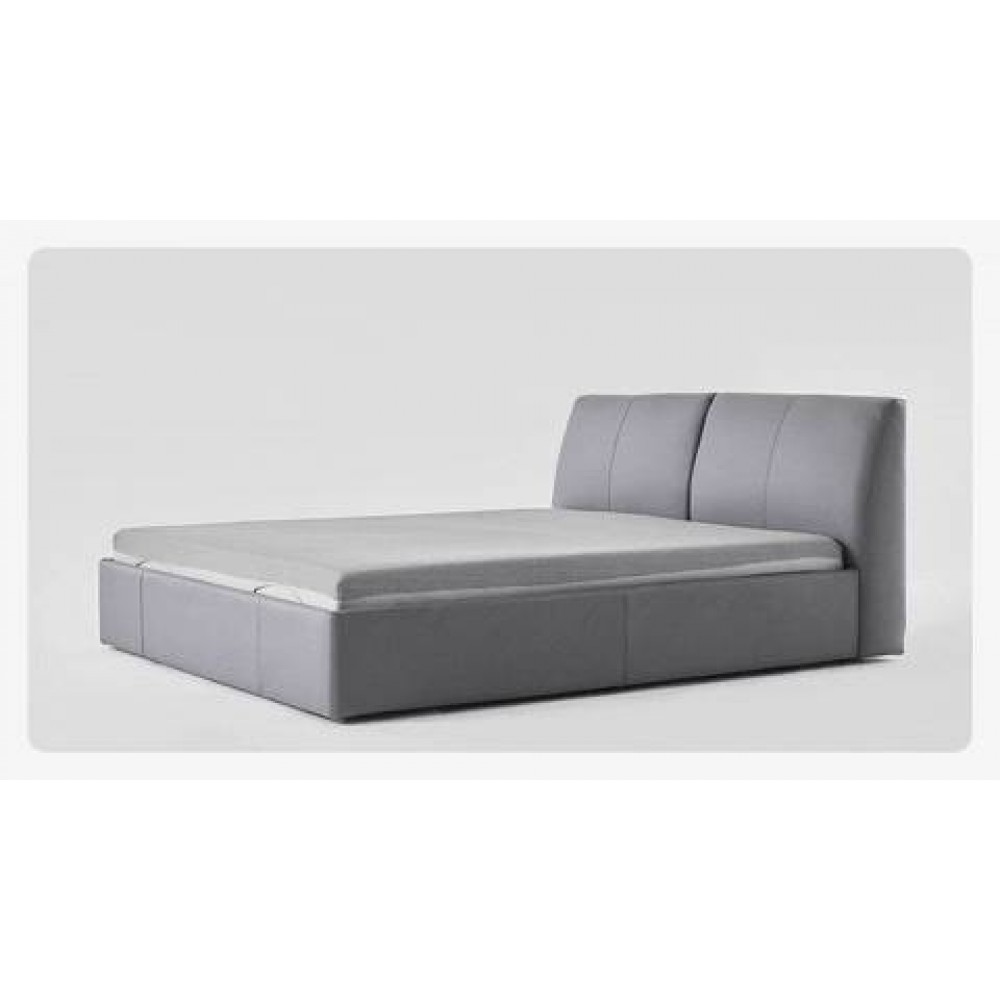Двуспальная кровать Xiaomi 8H Milan Smart Electric Bed 1.5 m Grey Blue (обычное основание)