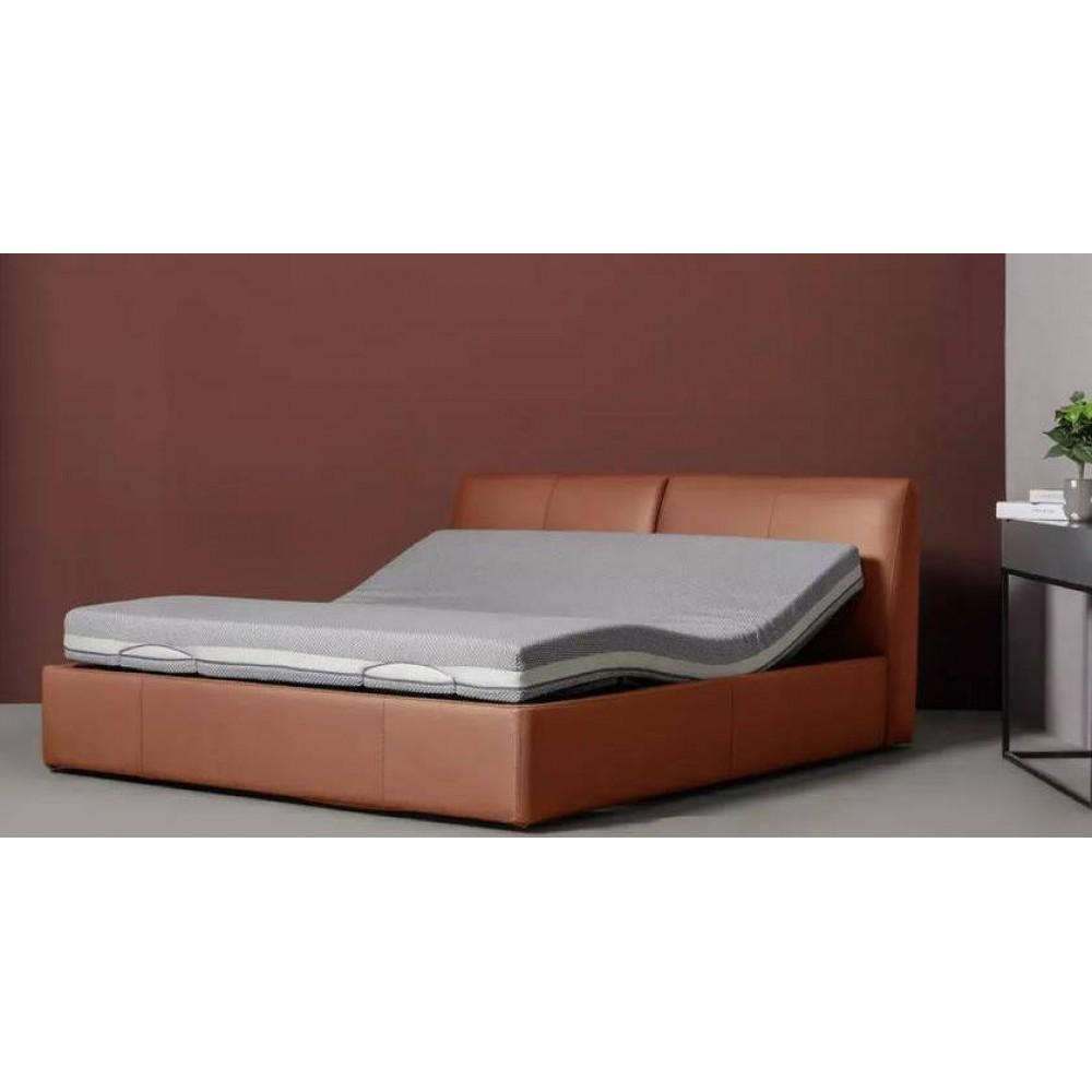 Двуспальная кровать Xiaomi 8H Milan Smart Electric Bed RM 1.8 m Fashion Orange (умное основание и латексный матрас Schcott)
