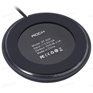 Беспроводное зарядное устройство Rock W5 Wireless charger (DT-610) Black