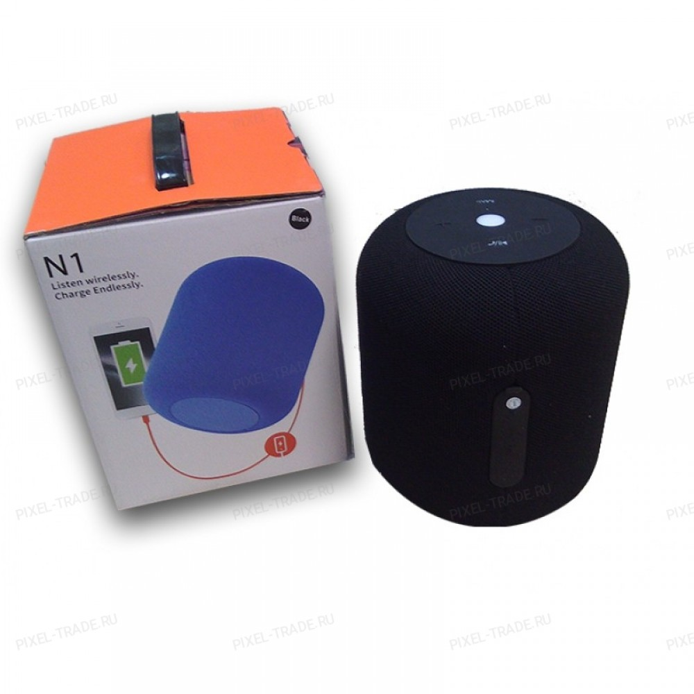 Bluetooth Стереоколонка  N1 Black