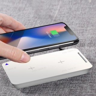 Беспроводное зарядное устройство Rock W8 Quick Wireless charger (WTS-H005) WHITE