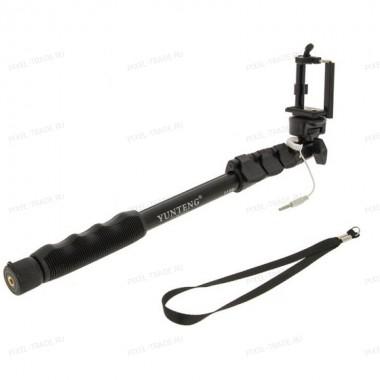 Монопод для селфи Yunteng YT-1188 телескопический 38 см - 128 см (iPhone, Samsung, Xiaomi)