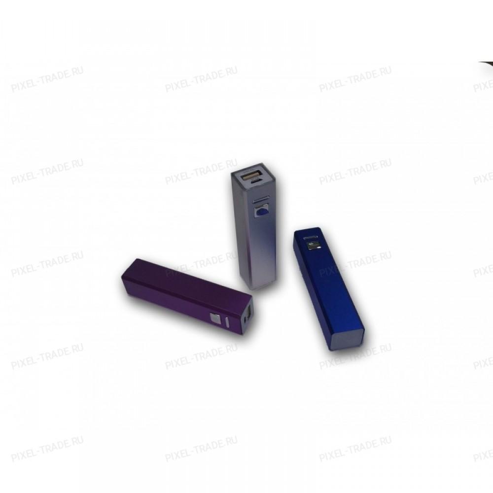 Портативный компактный аккумулятор PowerBank 2600 mAh