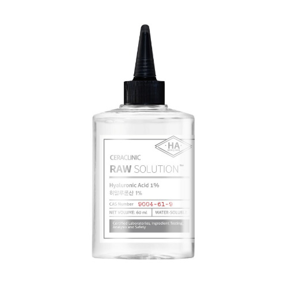 CERACLINIC Универсальная сыворотка ГИАЛУРОН Raw Solution Hyaluronic Acid 1%, 60 мл