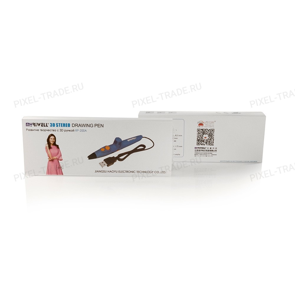 3D ручка Myriwell RP-200А Blue