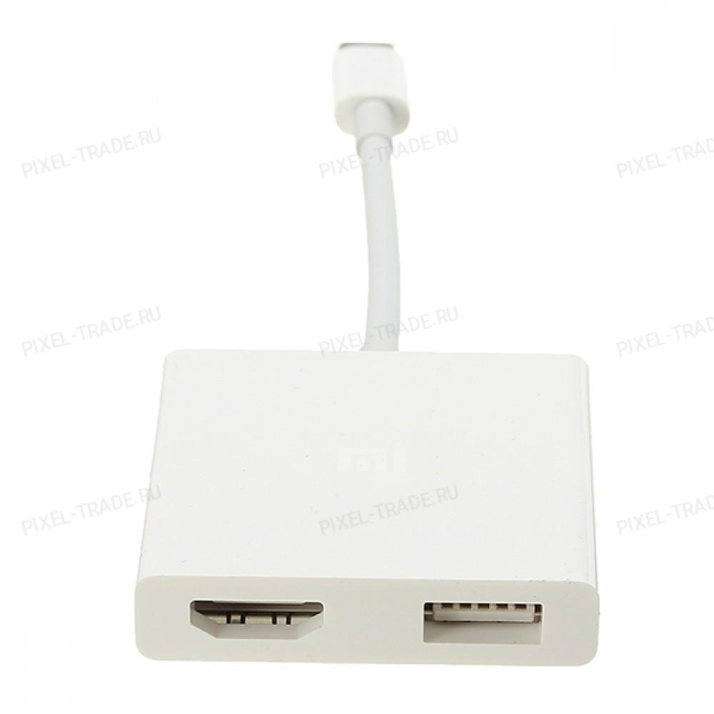Адаптер Xiaomi USB-C / HDMI (ZJQ01TM)