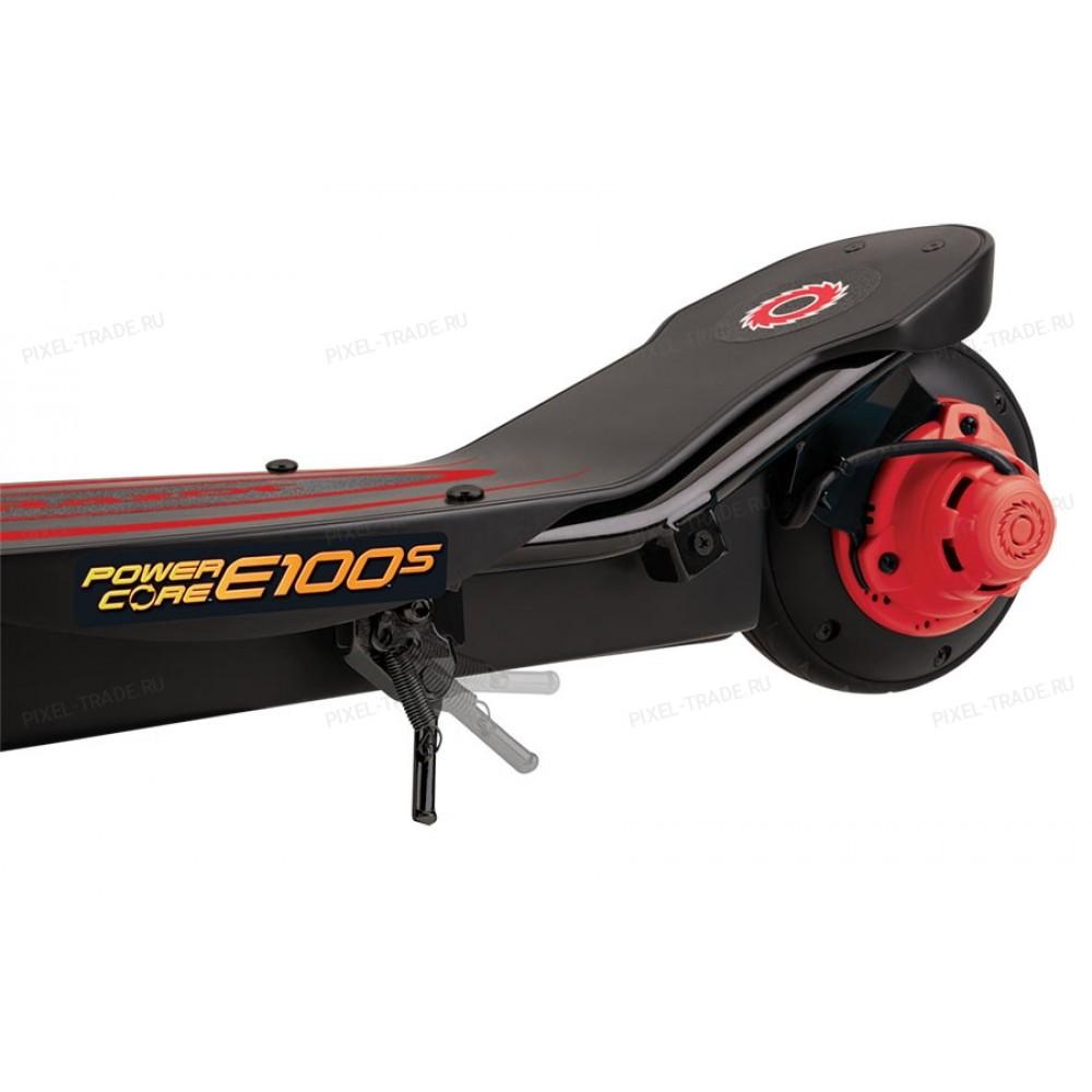 Электросамокат с сиденьем Razor Power Core E100S Красный