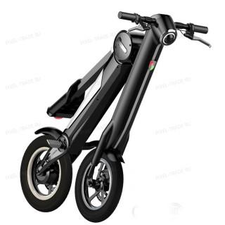 Электроскутер складной Citybike ET Scooter Черный