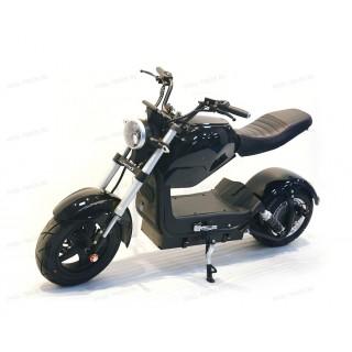 Электроскутер Citycoco Harley PRINCE Черный 2000W, 60В 20Ah