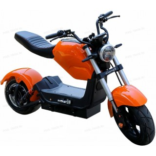 Электроскутер Citycoco Harley PRINCE Оранжевый 2000W, 60В 20Ah