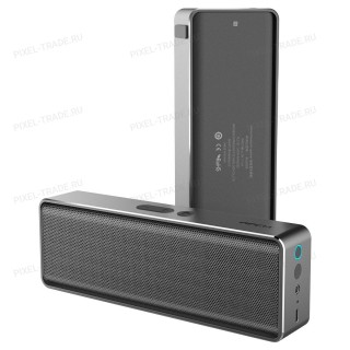 Bluetooth колонка портативная Rock Mubox Bluetooth Speaker Silver (RAU0506) Silver