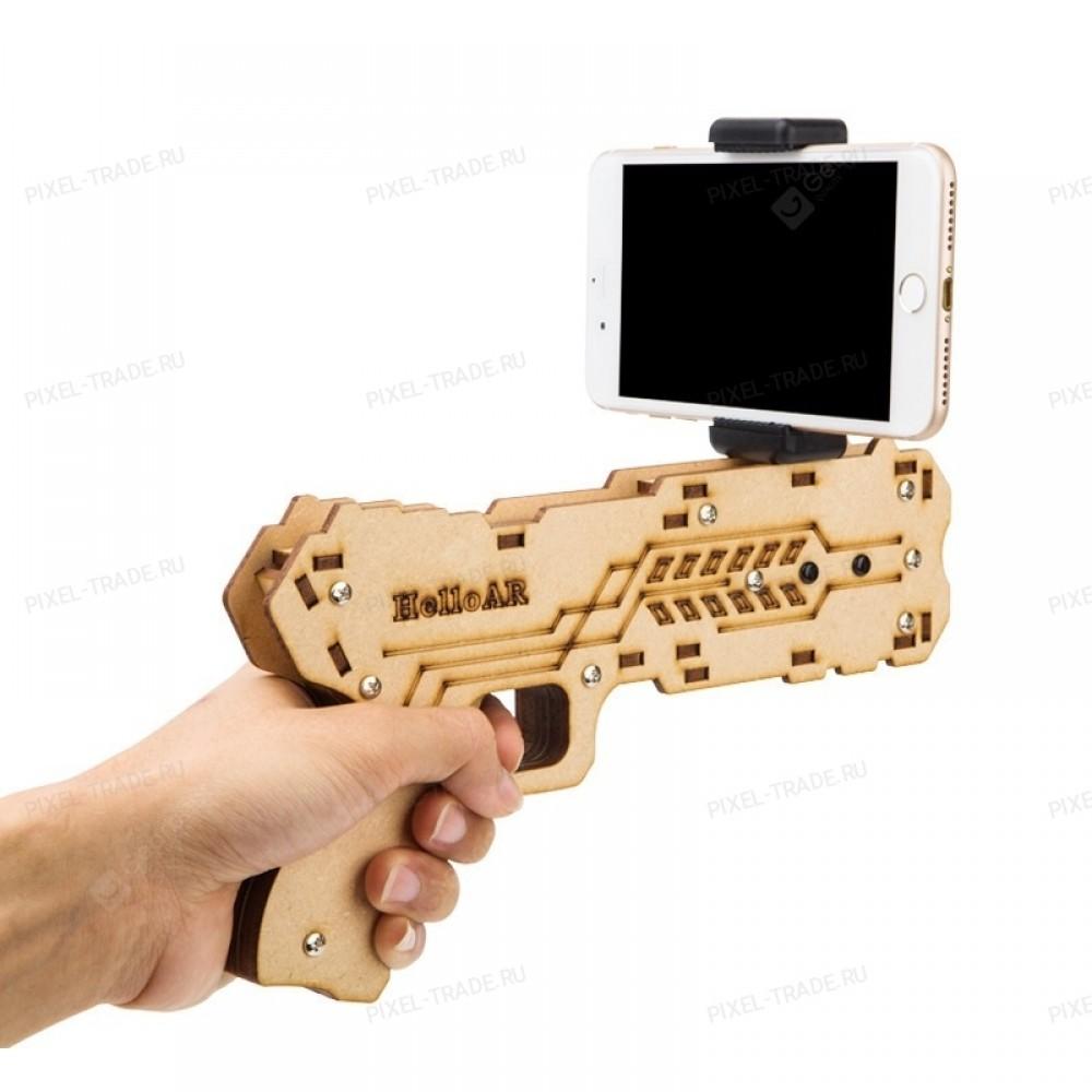 Пистолет дополненной реальности AR VR с держателем для мобильного телефона HelloAR