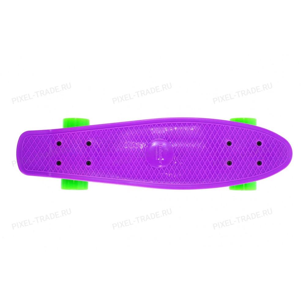 Пенни борд Hubster Cruiser 22 Фиолетовый