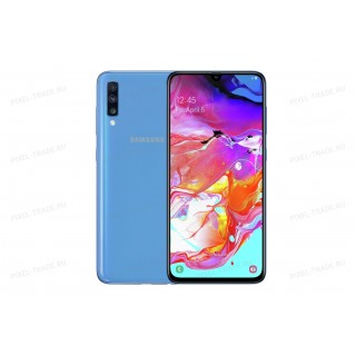 Смартфон Samsung Galaxy A70 128Gb Blue (Ru)