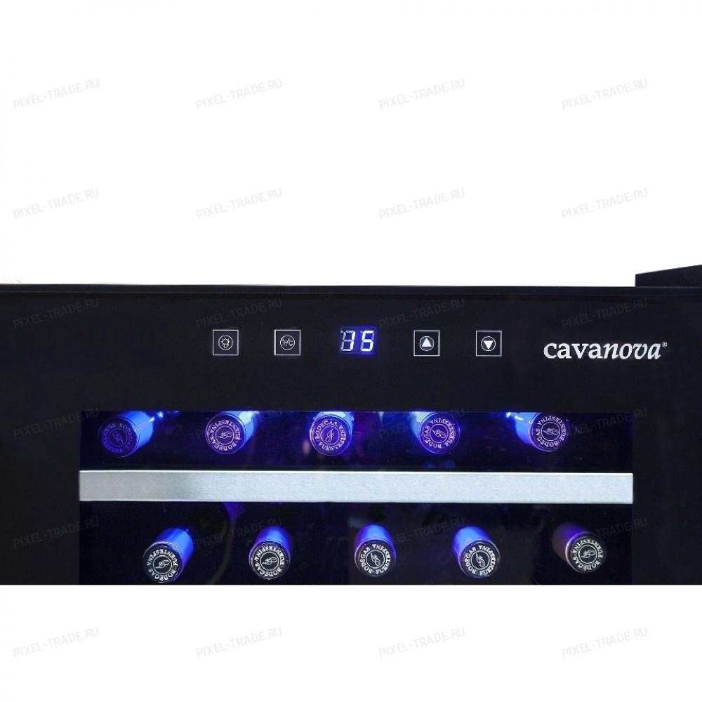 Винный шкаф Cavanova CV028C-NS
