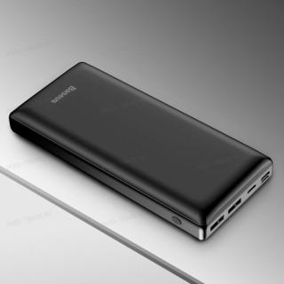 Внешний аккумулятор Baseus Mini JA Power Bank 30000 mAh Type-C/microUSB/Lightning 3A PPJAN-C01 Black