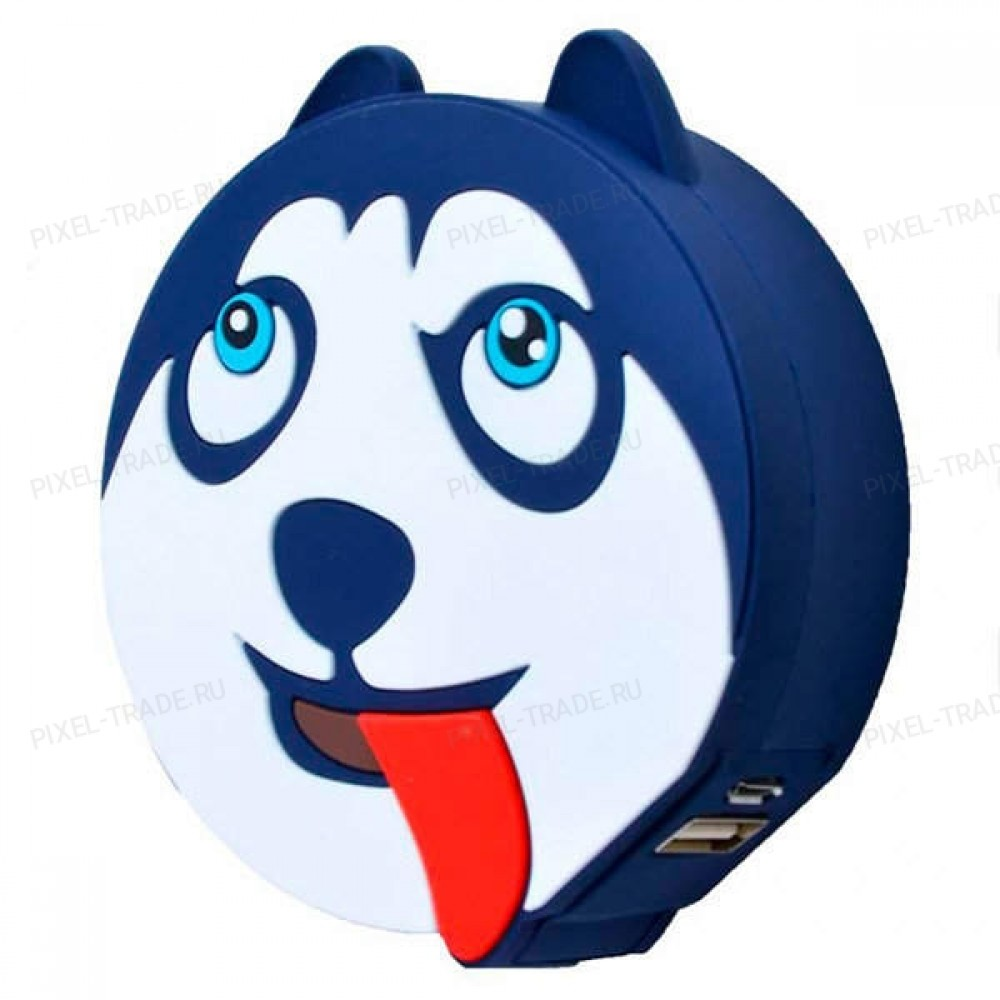 Внешний аккумулятор Emoji PowerBank Dog 1000 mAh