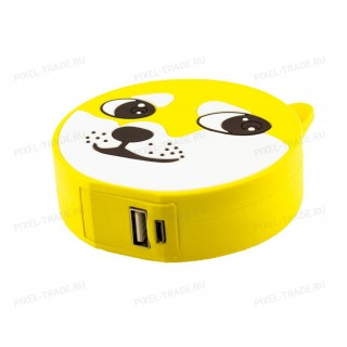 Внешний аккумулятор Emoji PowerBank Fox 1000 mAh