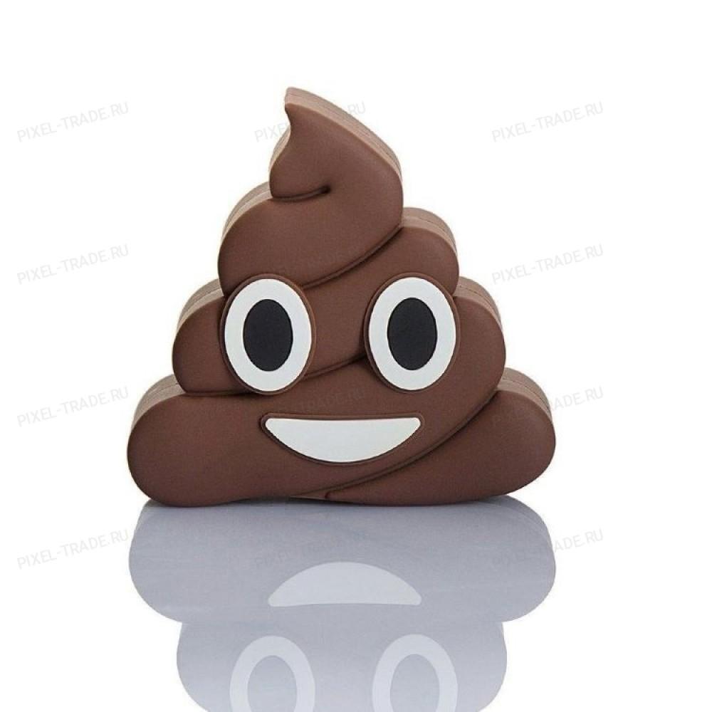 Внешний аккумулятор Emoji PowerBank Poo 1000 mAh